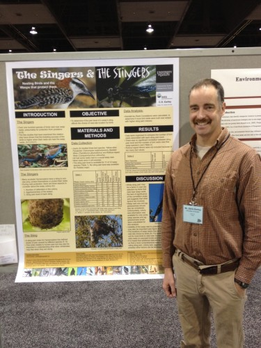 U of G Grad Student Chris Earley's Poster