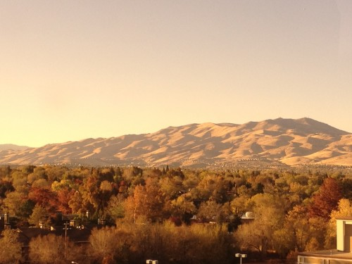 Mountains of Reno Nevada