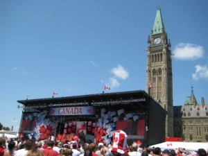 Parliament Hill & Canada Day Stage
