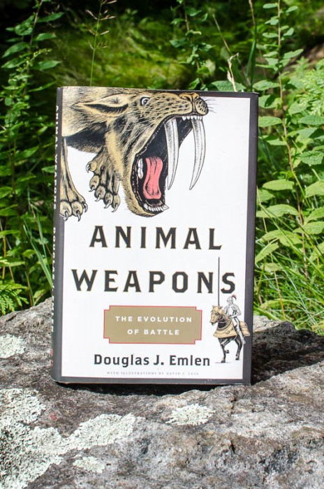Animal Weapons: The Evolution of Battle by Douglas Emlen